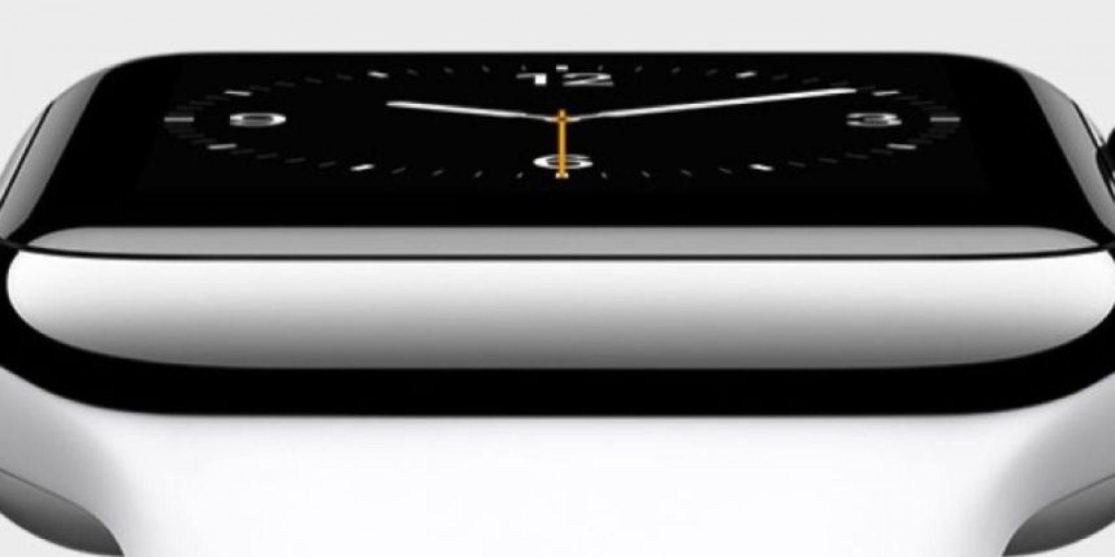 Pantalla: Fabricada en zafiro con caja de 38 o 42 mm. Foto:Apple