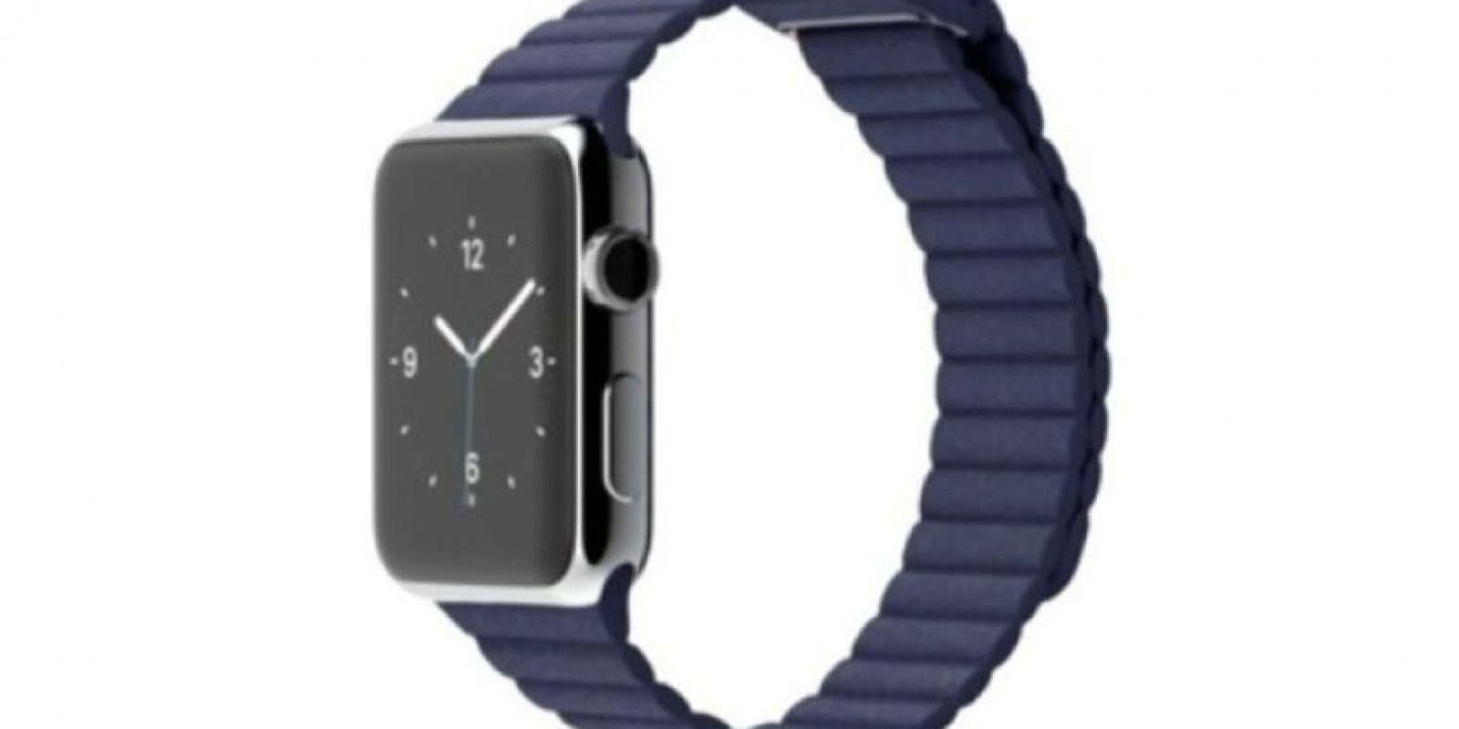 Peso: 25 gramos (modelo 38mm) y 30 gramos (modelo 42mm). Foto:Apple