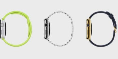 Modelos: Apple Watch, Apple Watch Sport y Apple Watch Edition con oro de 18 kilates. Foto: Apple