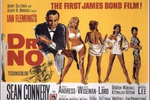 "5 de octubre: Se estrena ""Dr. No"", la primera película del agente ""James Bond"" Foto:United Artists"