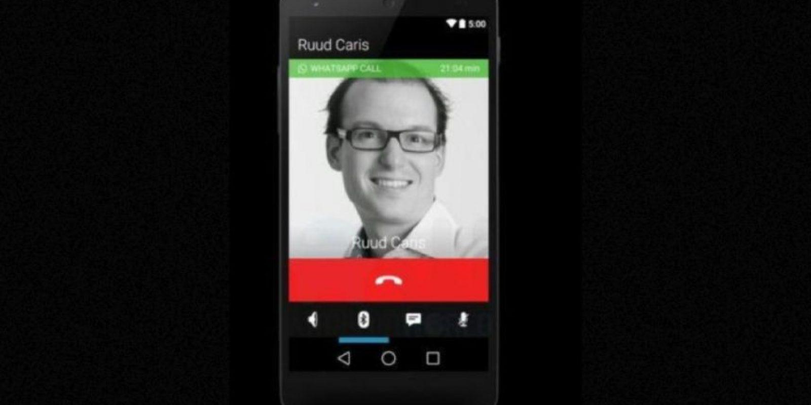Llamadas a contactos por medio de Internet y sin costo. Por el momento solo disponibles en Android. Foto:Tumblr
