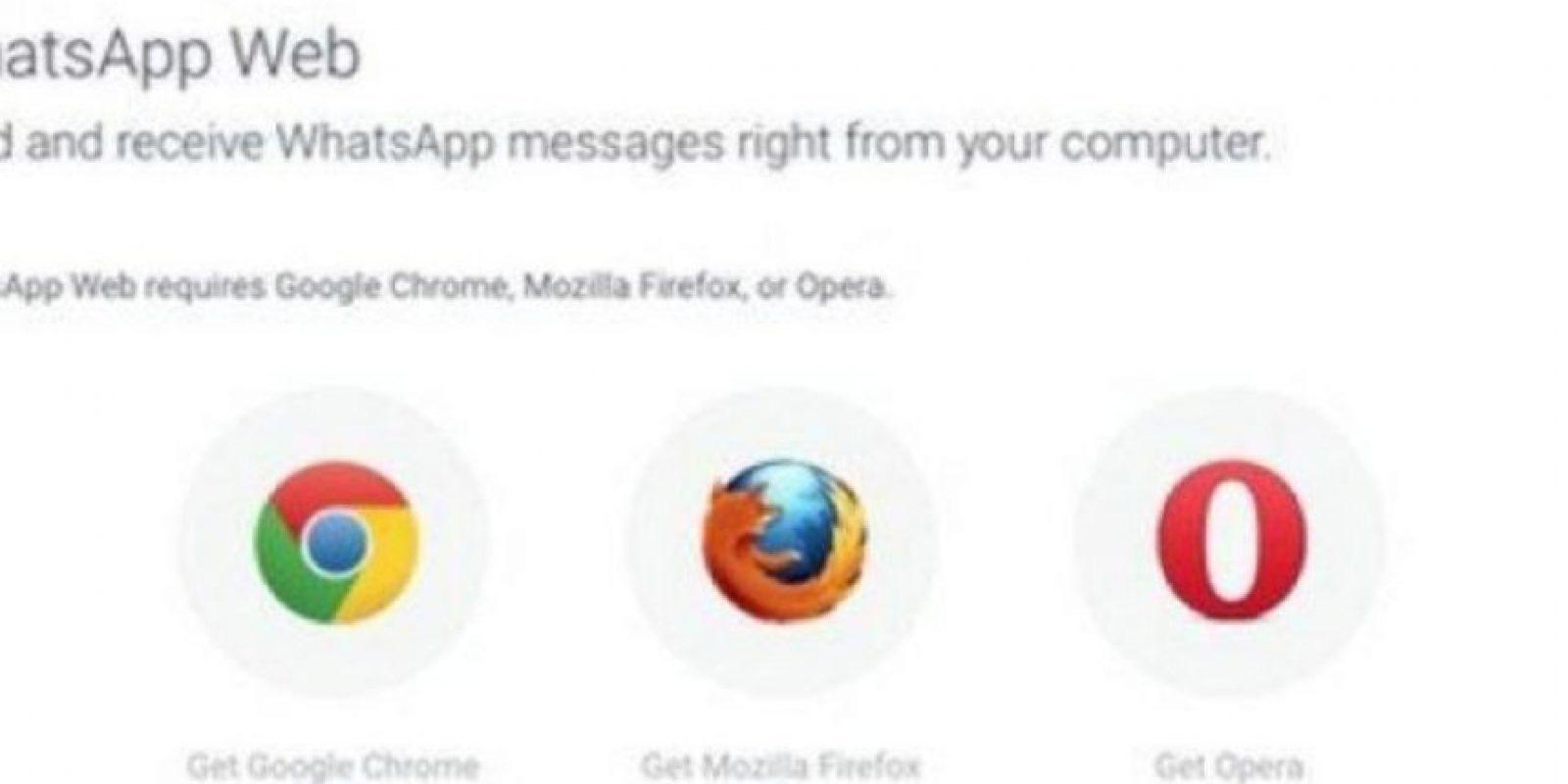 Permite chatear, enviar fotos o archivos desde su ordenador siempre y cuando su PC y el smartphone estén conectados en la misma red de datos. Foto:Pinterest