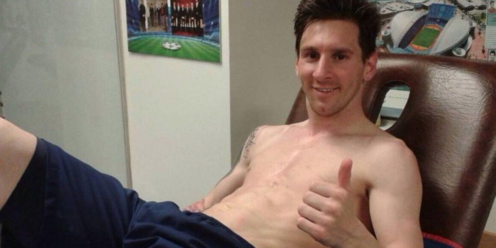 Leo Messi dice que quiere marcar muchos goles más. Foto:Twitter