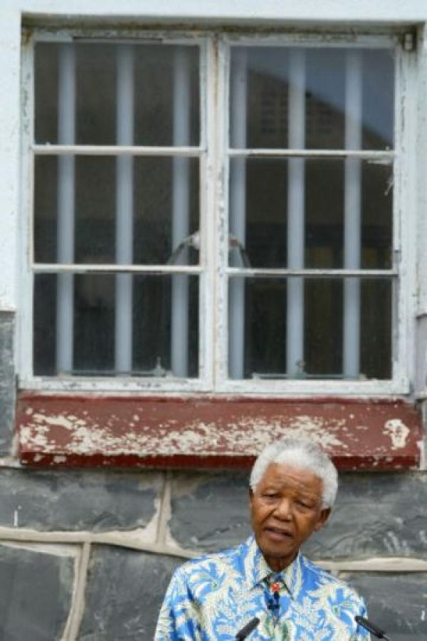 5 de agosto: Nelson Mandela es arrestado en Sudáfrica. Se le acusa de incitación a la rebelión. Foto:Getty Images