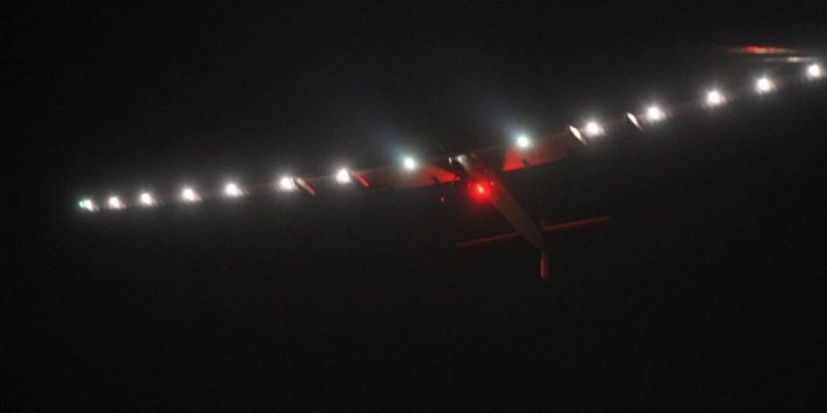 Avión Solar sobrevuela China durante su sexta etapa de la vuelta al mundo