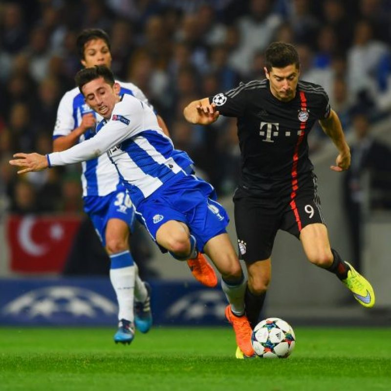 Los lusos vencieron 3-1 en el partido de ida de los cuartos de final de la Liga de Campeones Foto:Getty Images