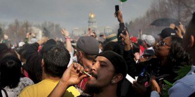 Francia es el único país en el que el 20 de abril no ha sido abrazado por la comunidad como día del consumo y las actividades por la legalización de la marihuana Foto:Getty Images