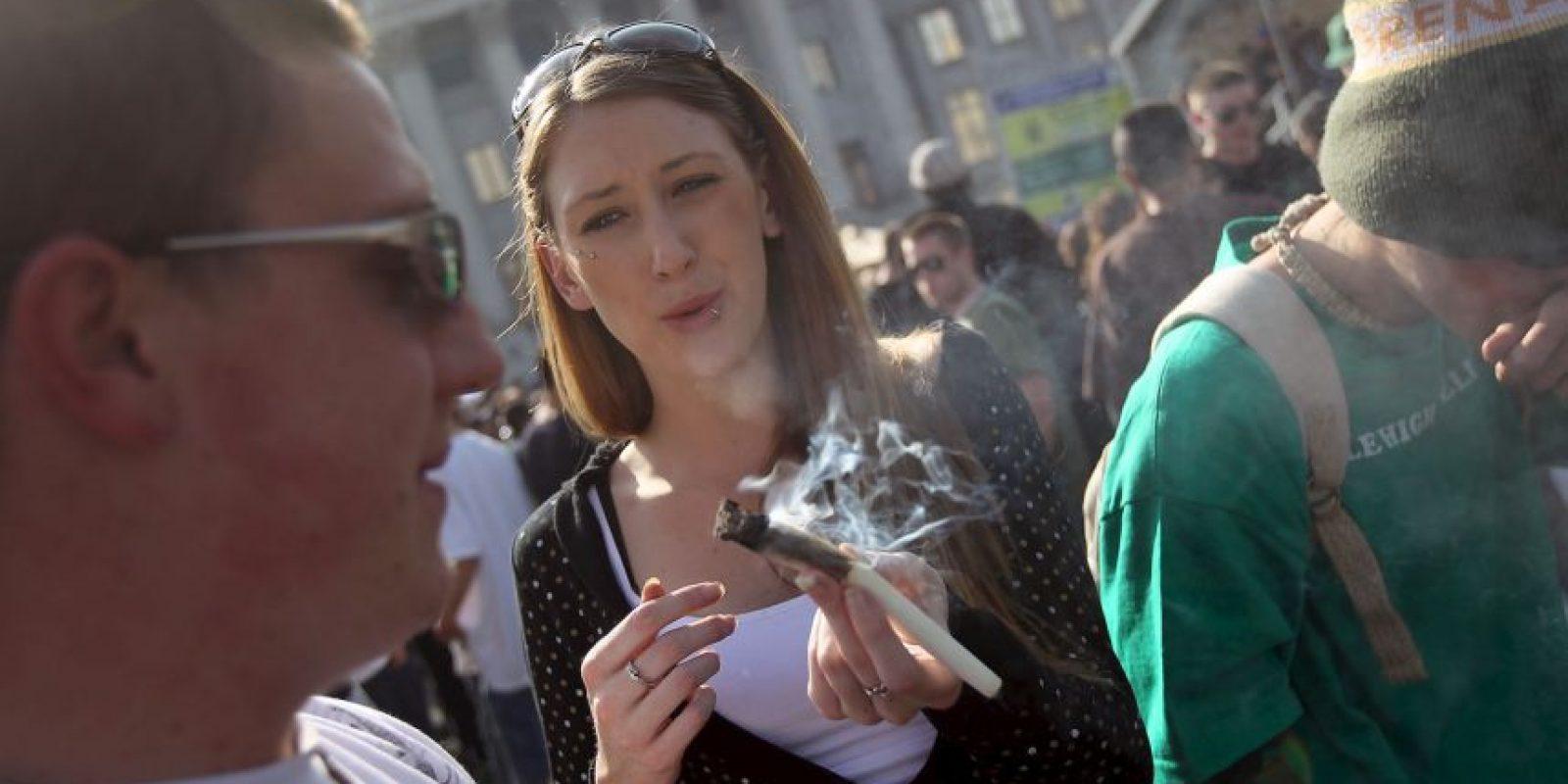 Hoy miles de personas se manifestaron a favor de la marihuana y todos sus usos. Foto:Getty Images