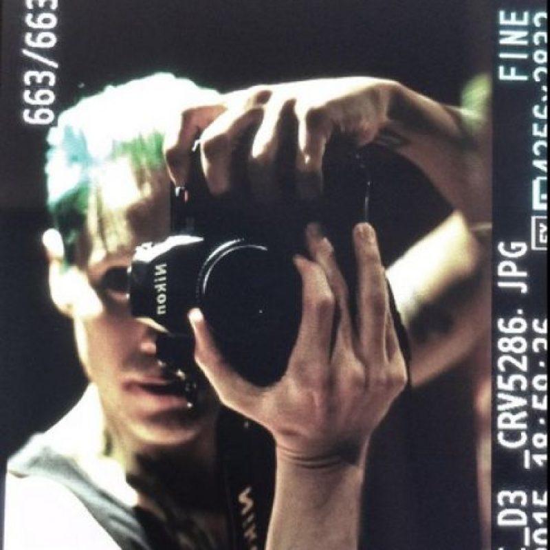 Jared Leto haciendo referencia a la portada del cómic Foto:Twitter/DavidAyerMovies