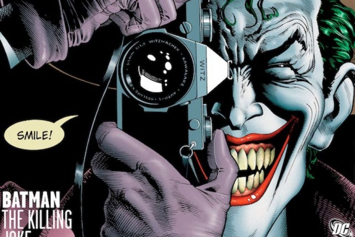 "Portada del cómic ""The Killing Joke"" Foto: DC Comics"