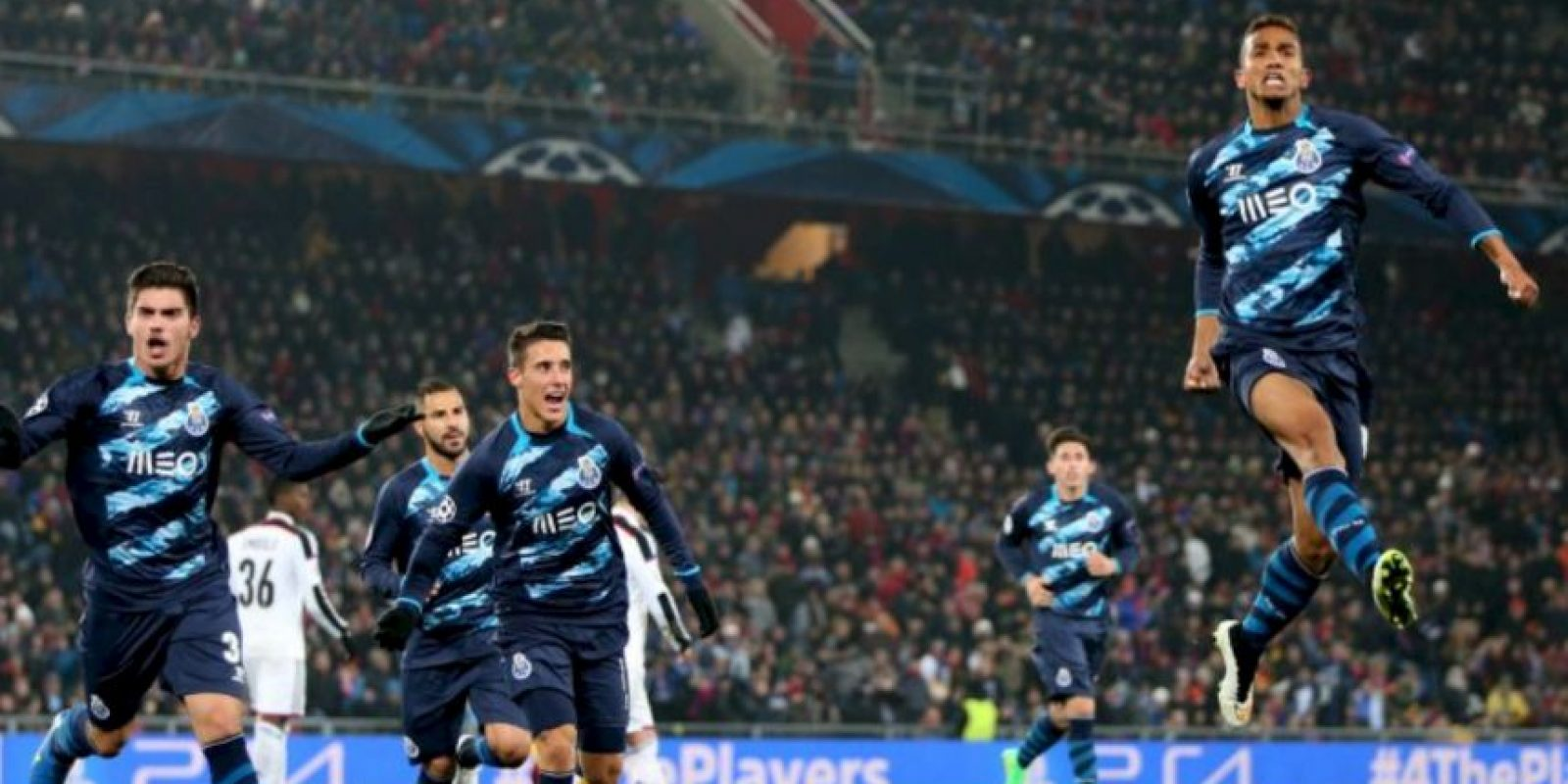 Porto se encuentra a 90 minutos de estar entre los mejores cuatro clubes de Europa Foto:Getty Images
