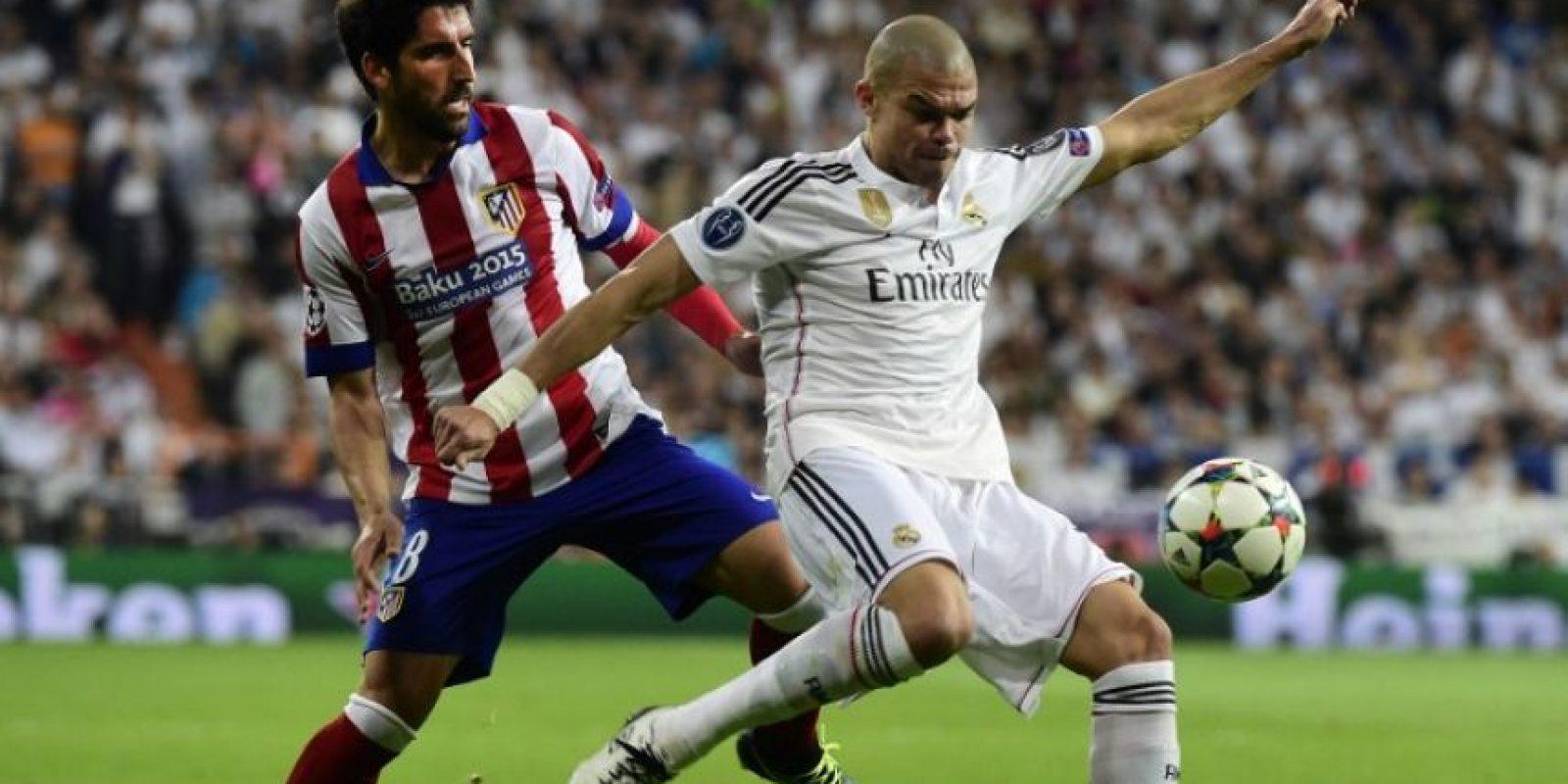 Con el gol de Hernández, el Madrid consiguió en forma agónica su acceso a la siguiente ronda. Foto:AFP