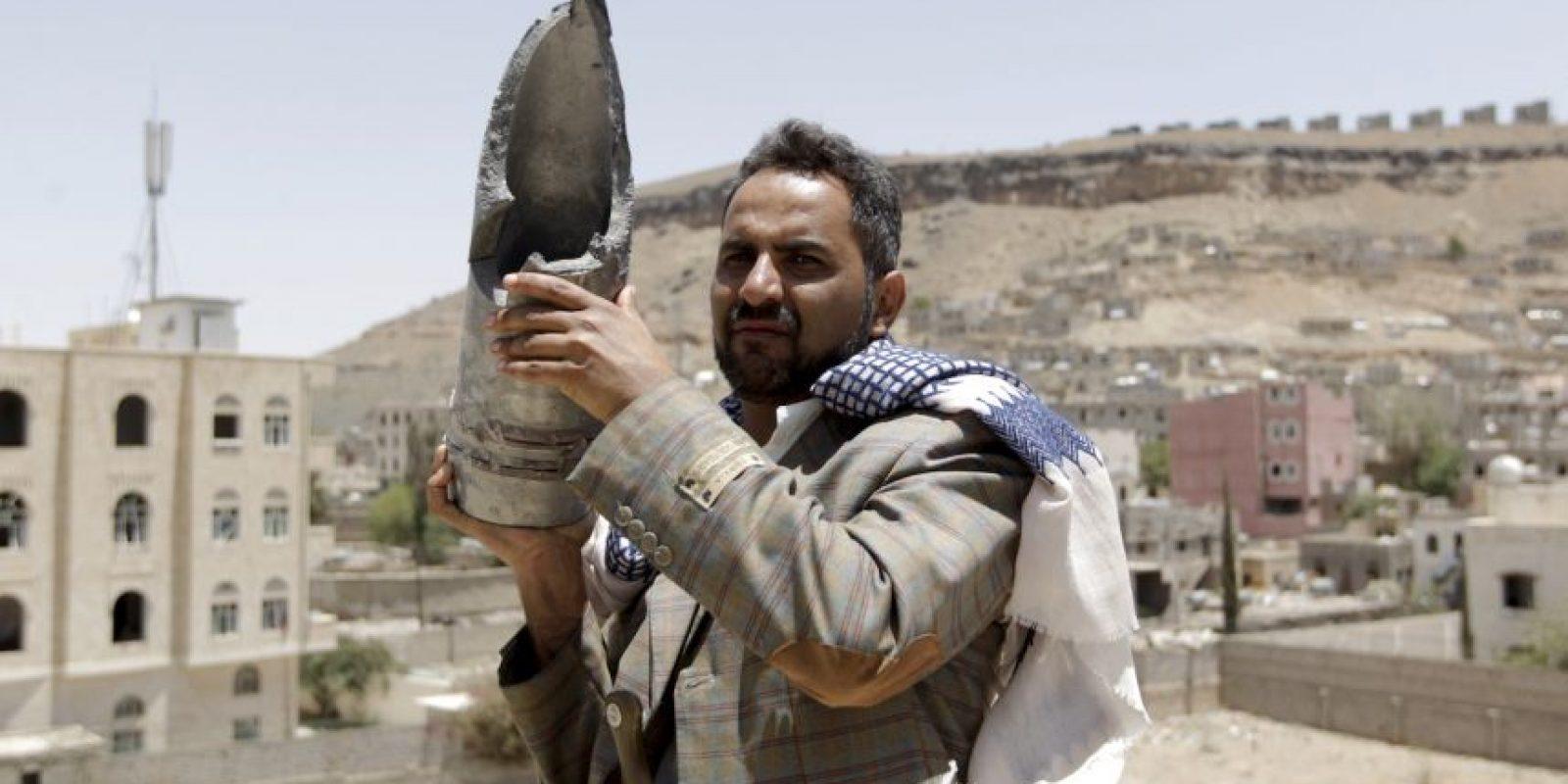 El martes 21 de abril se dieron por concluidos los ataques aéreo sobre Yemen, por la coalición árabe liderada por Arabia Saudita. Foto:AFP