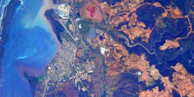 """""""Jamás he escuchado de Moa, Cuba, pero se ve muy colorida desde el espacio"""", escribió Kelly Foto:Facebook.com/pages/NASA-Astronaut-Scott-Kelly"""