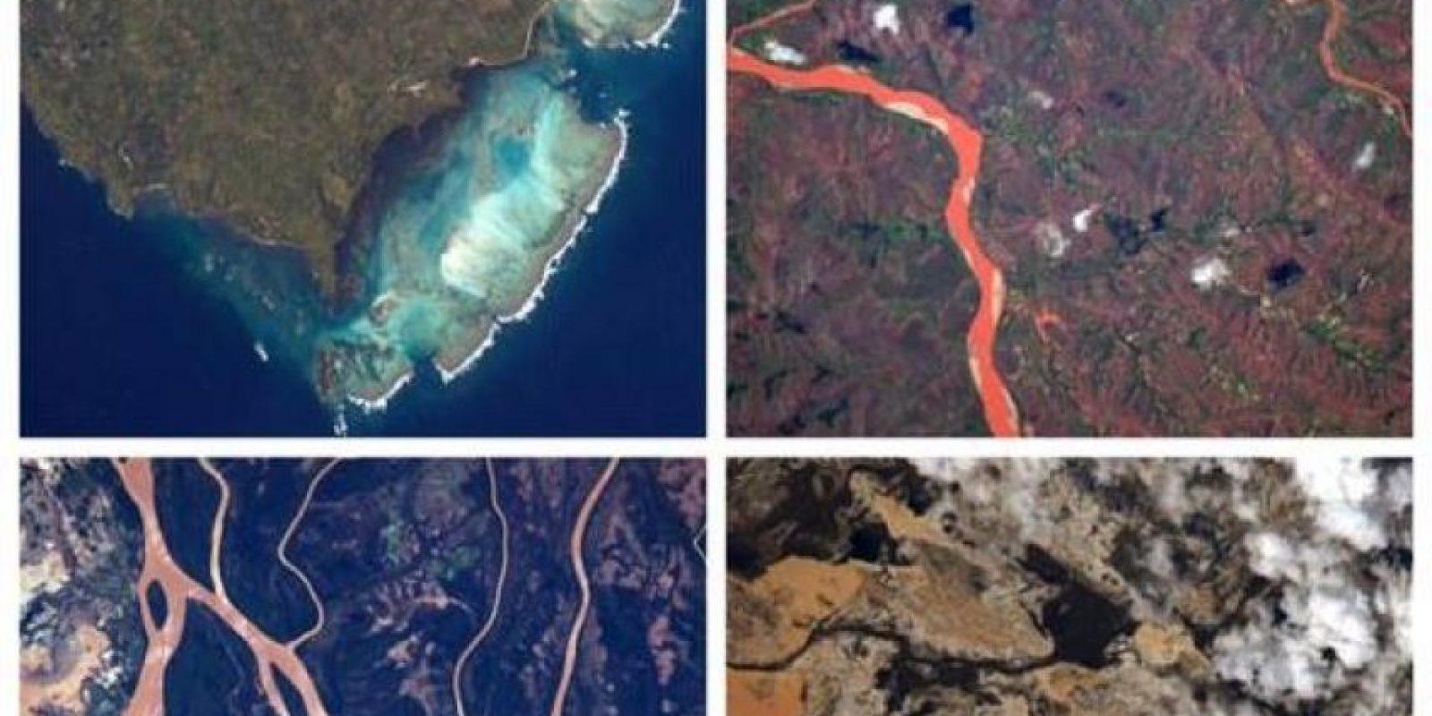 La diversidad de colores de Madagascar Foto:Facebook.com/pages/NASA-Astronaut-Scott-Kelly