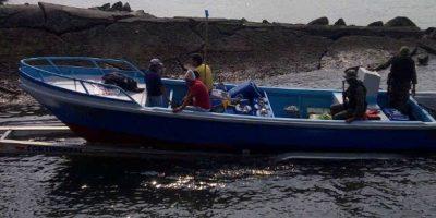 Detienen en costas del Pacífico a lancha que supuestamente trasiega drogas