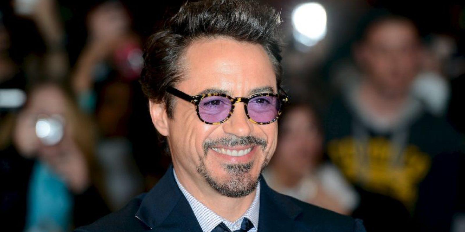 """Robert Downey Jr., interpreta a """"Iron Man"""" en la película """"Avengers: La era de Ultrón"""" Foto:Getty Images"""