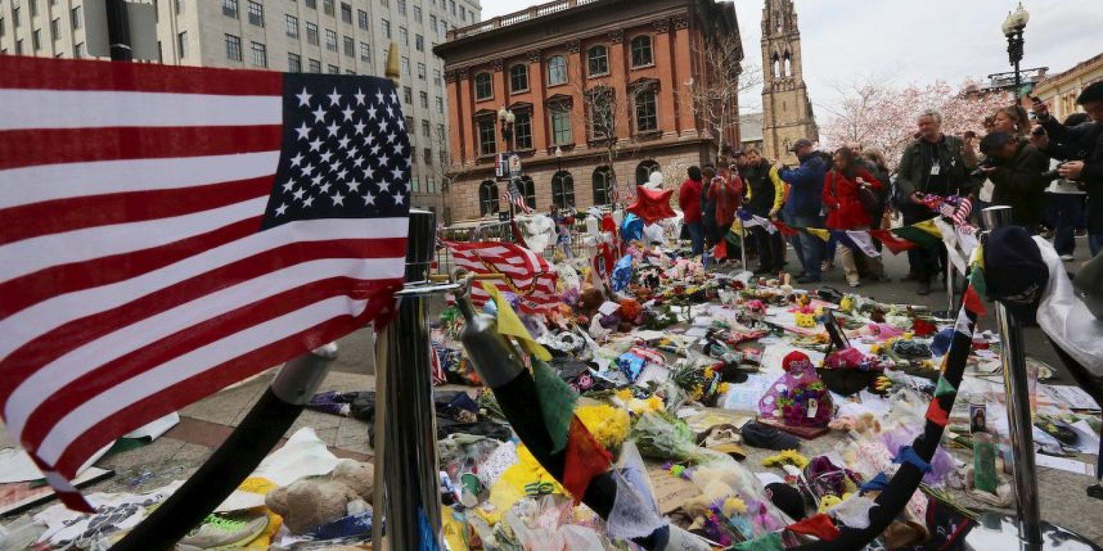 El lunes 20 de abril se celebró la 119 edición del maratón, después de dos años del atentado. Foto:Getty Images