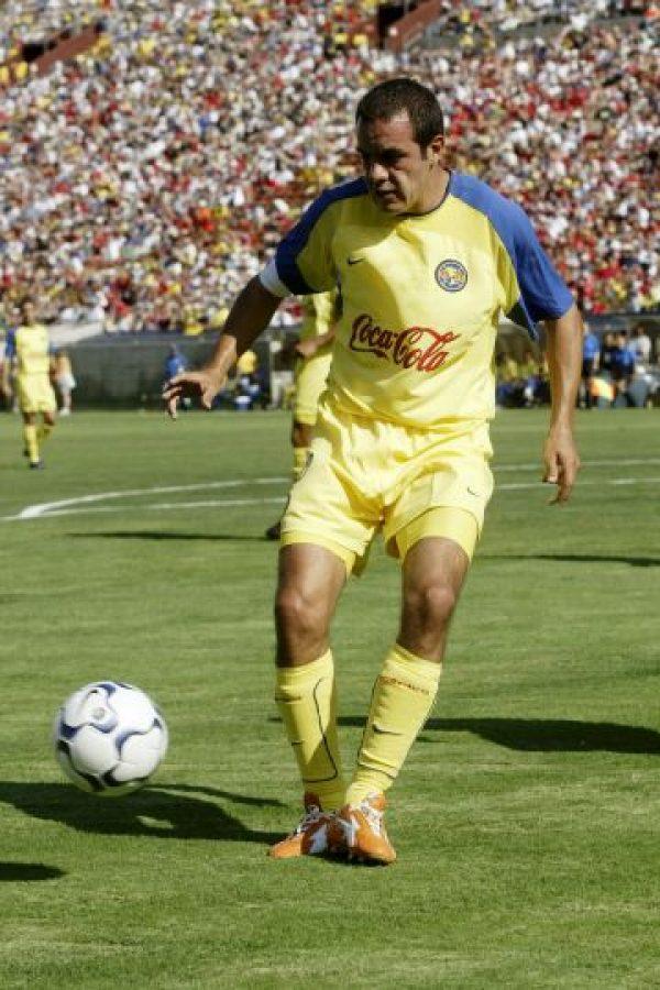 A pesar de su larga trayectoria en el fútbol de México, Cuauhtémoc sólo ganó tres títulos oficiales: una Liga con América en 2005, y dos Copas MX, una con Dorados de Sinaloa en 2009 y otra con Puebla en 2015. Foto:Getty Images
