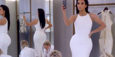 FOTOS. Estos sensuales selfies estarán en el libro de Kim Kardashian