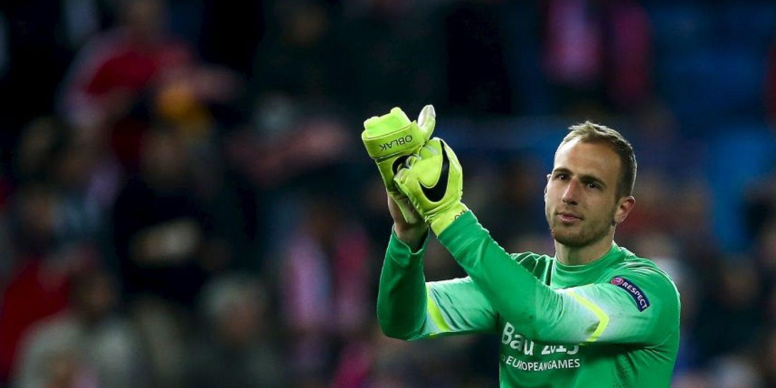 Jan Oblak fue el mejor jugador en el partido de ida Foto:Getty Images