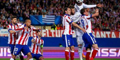 """""""Colchoneros"""" y """"merengues"""" igualaron 0-0 en el partido de ida Foto:Getty Images"""