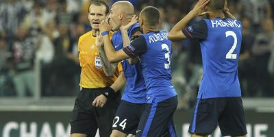 Los italianos vencieron con un penal polémico Foto:Getty Images