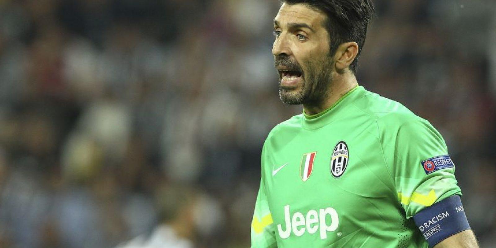 El veterano portero Gianluigi Buffon se encuentra en un gran momento. Foto:Getty Images