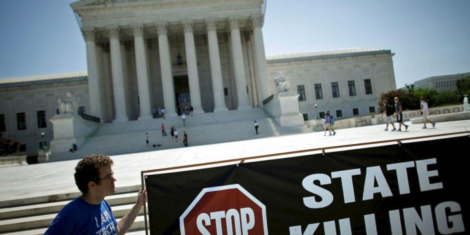 7. Diversas organizaciones luchan por que se elimine la pena de muerte en ese estado. Foto:Getty Images