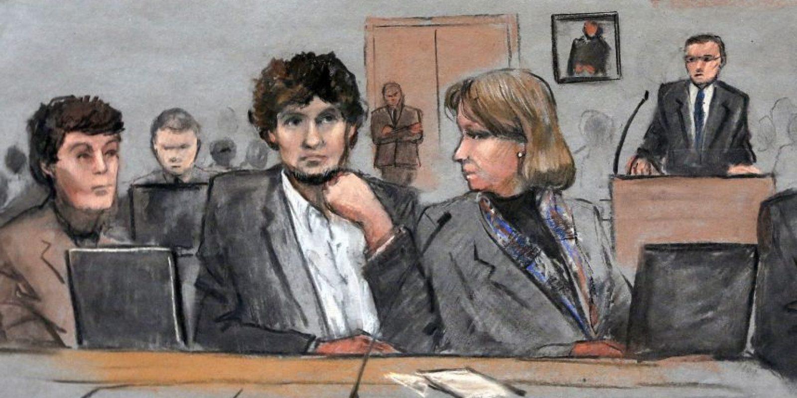 Ayer comenzó la segunda fase del juicio contra Djokhar Tsarnaev, Foto:AP