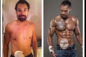 Blake Beckford optó por convertirse en un modelo de fitness luego de someterse a una cirugía que lo confinó a una bolsa. Foto: Vía twitter.com/blake_beckford