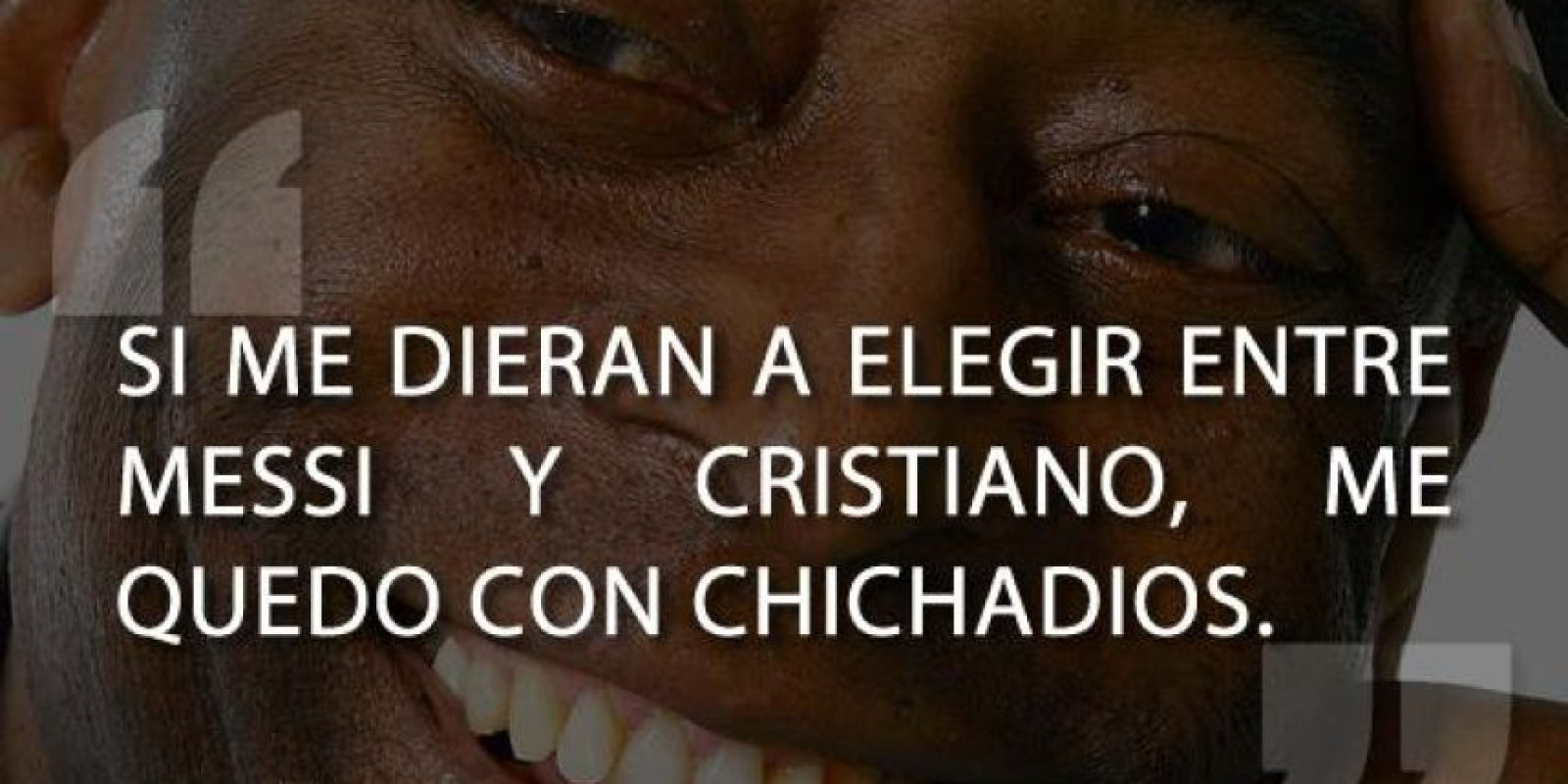 """Incluso el """"Rey"""" Pelé. Foto:Vía Twitter"""