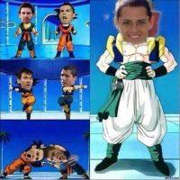 ¿Qué resulta de la fusión de Messi y Cristiano? Foto:Vía Twitter