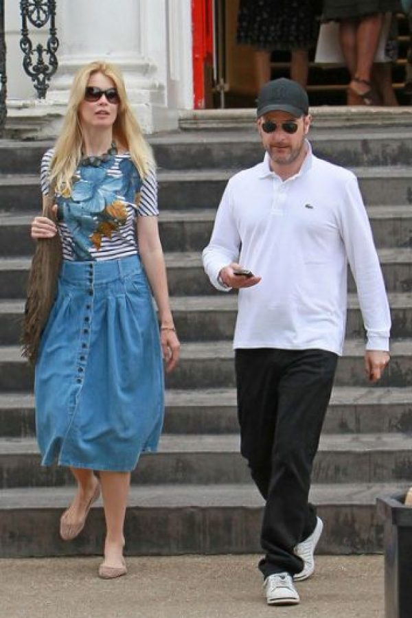 Claudia Schiffer y Matthew Vaughn
