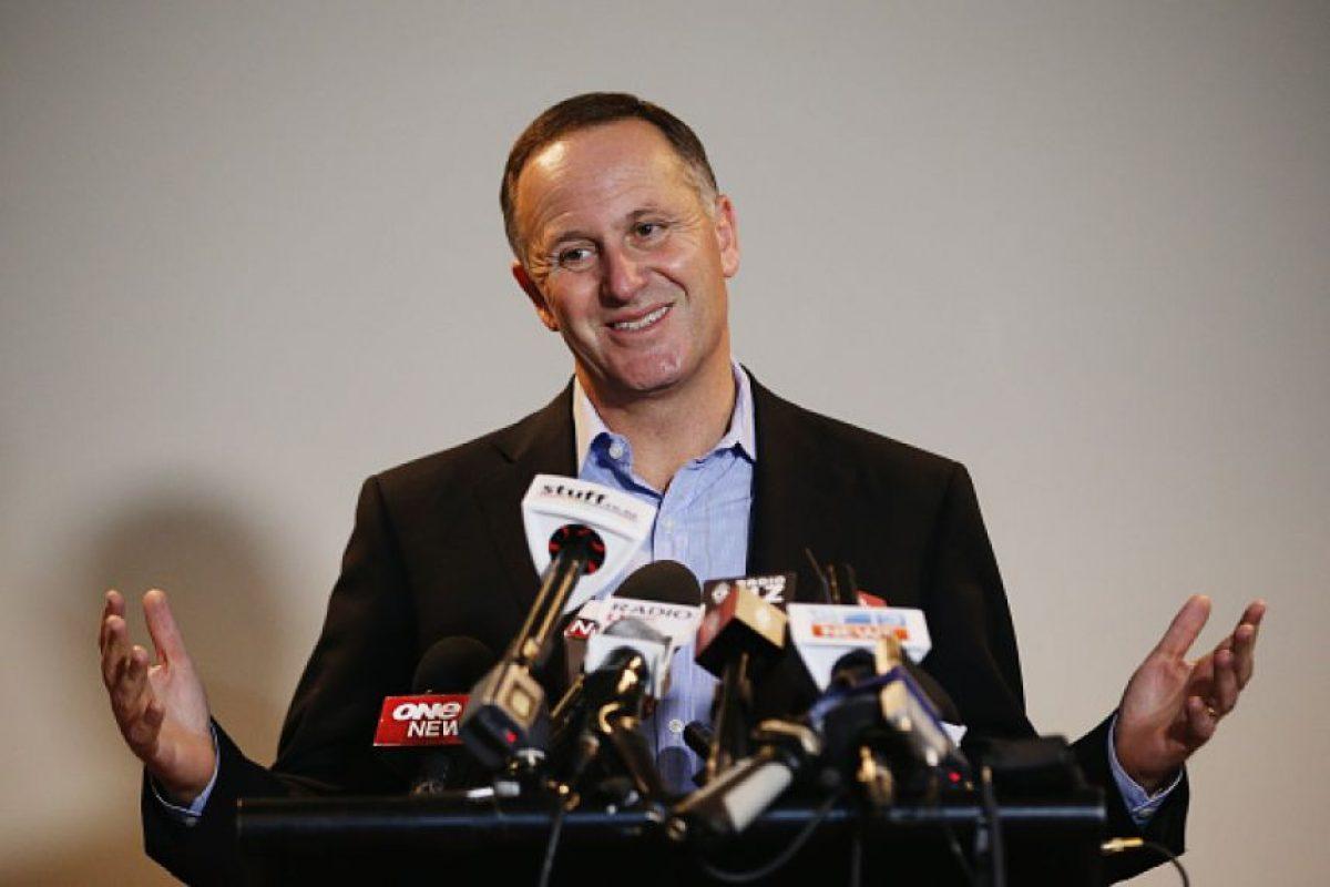 El primer ministro John Key aseguró que su acción fue de forma amistosa. Foto:Getty Images