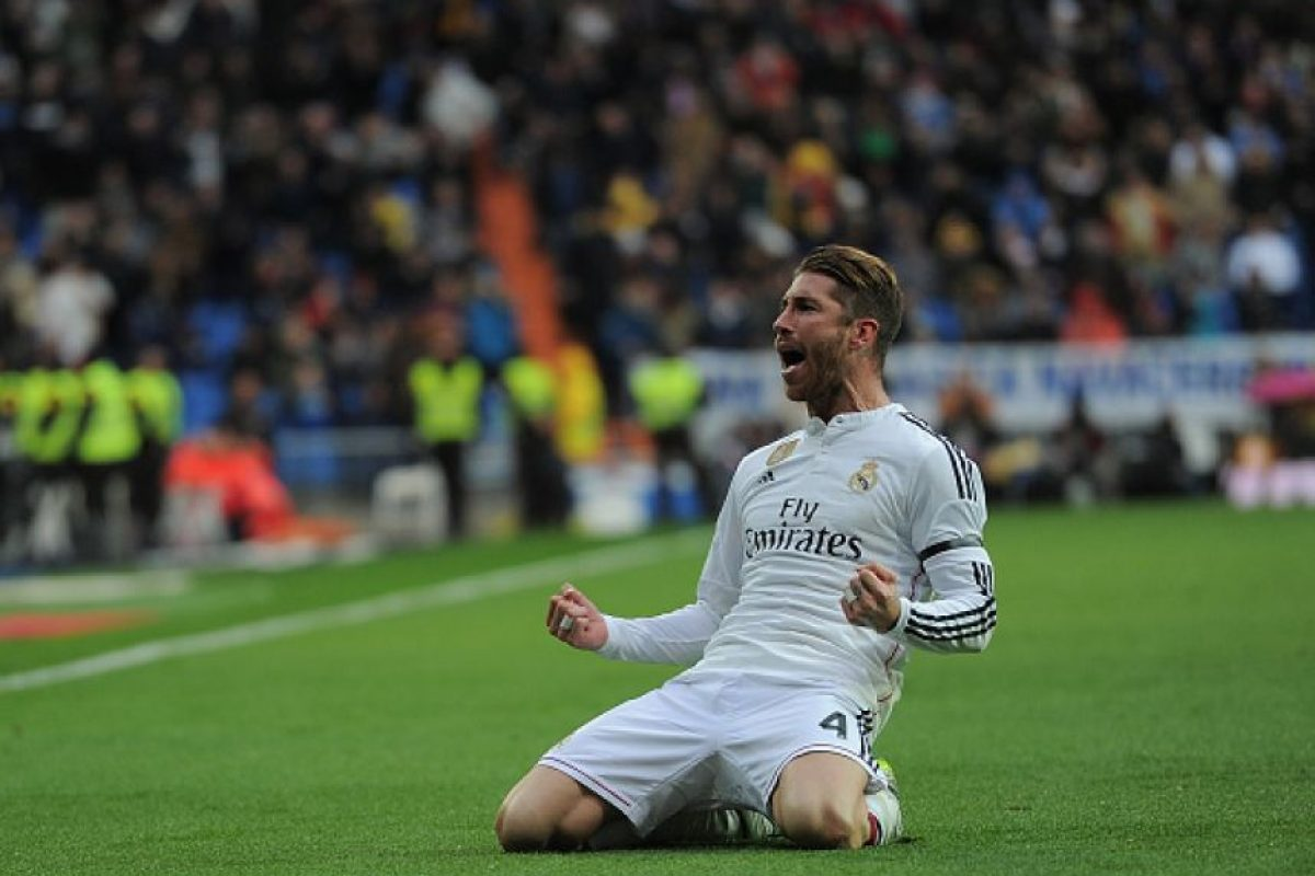 "Sergio Ramos es el líder de la defensa ""blanca"" Foto: Getty Images"