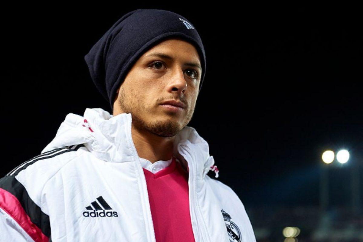 Javier Hernández tendrá su oportunidad en los cuartos de final de la Champions Foto:Getty ImagesGetty Images
