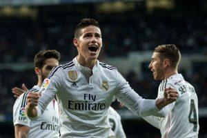 James Rodríguez estará en la punta del ataque Foto:Getty Images