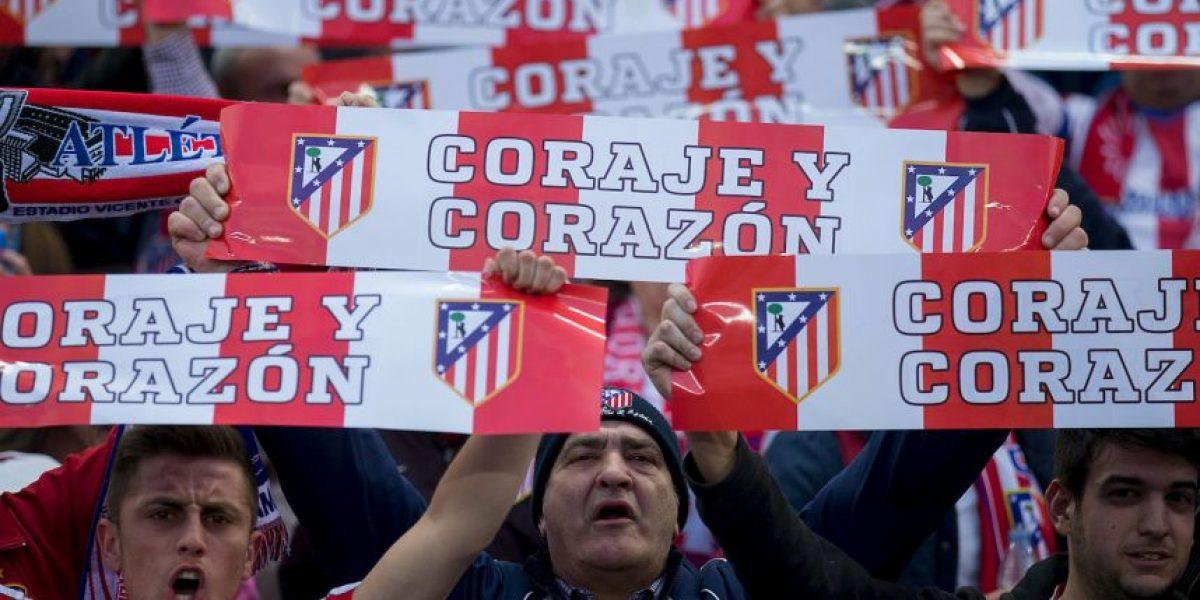 ¿Confundido? Hincha con camiseta del Atlético apoya al Madrid