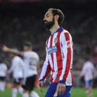"Juanfran es el lateral izquierdo del ""Atleti"" Foto:Getty Images"