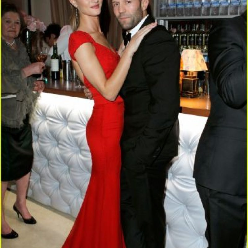 Rosie Huntington-Whiteley y Jason Statham