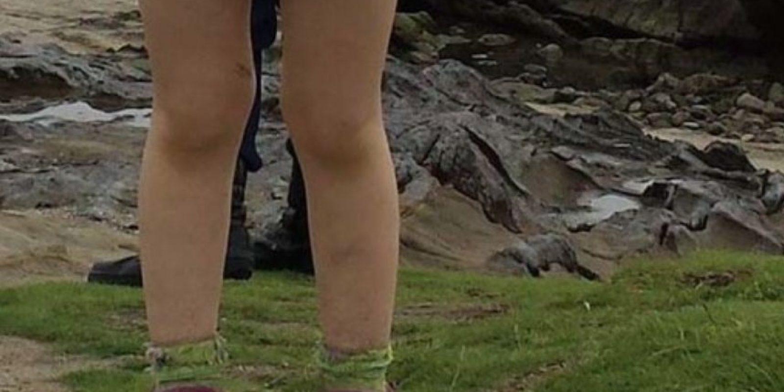 Los pies de alguien. SÍ. LOS PIES DE ALGUIEN. Según Internet, como la foto fue tomada en Japón parecen ser los de un samurai. Quien la tomó dijo que no hubo Photoshop. Foto:vía Imgur
