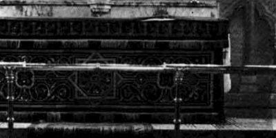 El fantasma de Newby: La foto fue tomada en los años 60 por un reverendo de la zona. Este afirmó que no había nada en el lugar. Foto:K.F.Lord