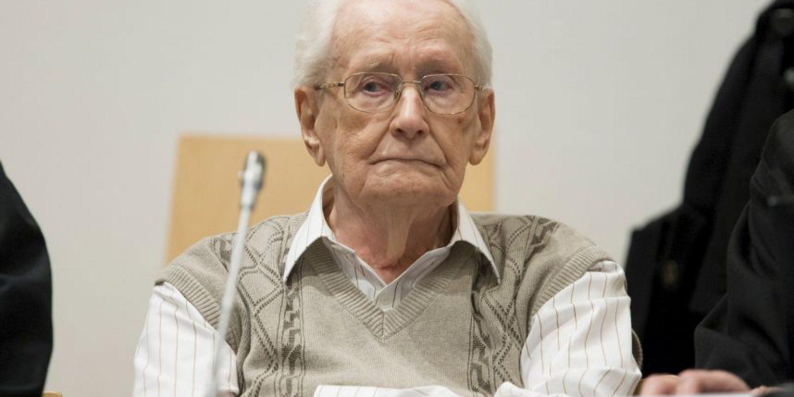 El proceso contra Oskar Gröning se considera uno de los últimos grandes juicios por los crímenes nazis Foto:Getty Images