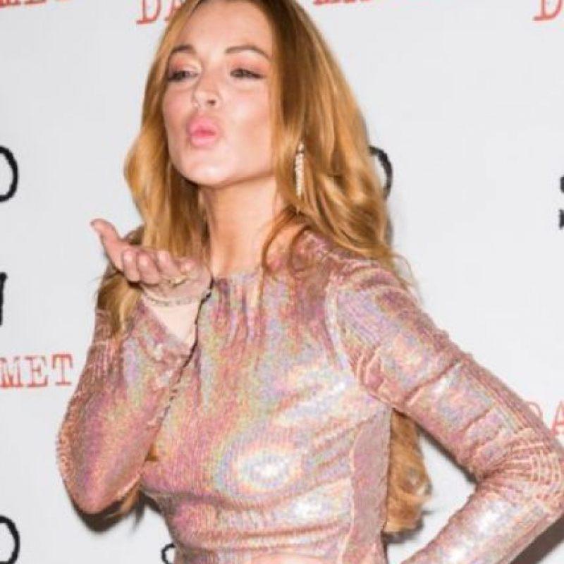 Lindsay Lohan se caracteriza por postear fotos polémicas en Instagram. Foto:vía Getty Images
