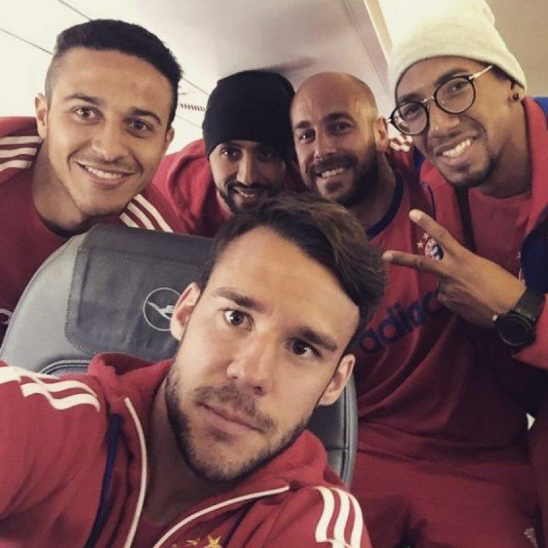 Ambos futbolistas son aficionados a las redes sociales, sobre todo a Instagram donde comparten fotos con sus seguidores. Foto:Vía instagram.com/thiago6