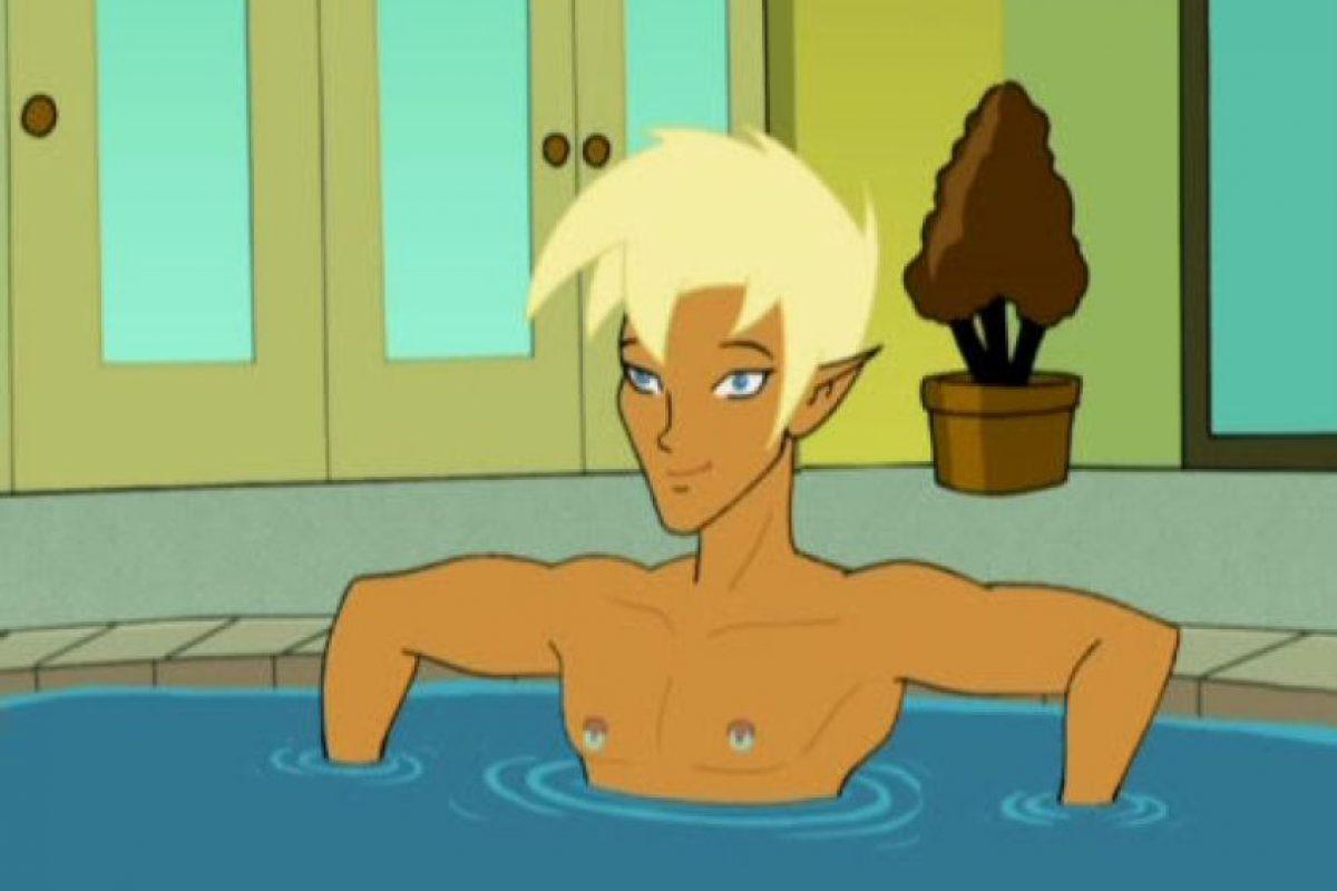 """Este héroe de la serie animada para adultos, """"Drawn Together"""", representa una parodia a """"Link"""" del videojuego """"The Legend of Zelda"""", es un personaje homosexual abiertamente. Foto:IMDB"""