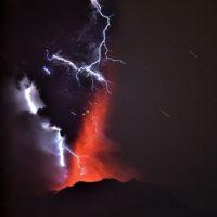 6. Volcán Calbuco, en Chile Foto:AFP