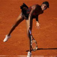La tenista mostró su ropa interior Foto:Getty Images
