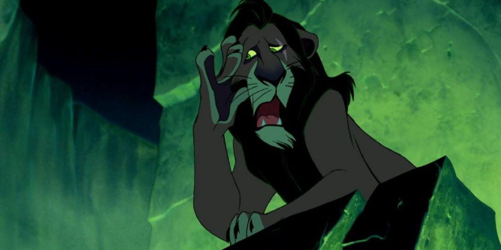 """8.- Scar tuvo tres hijos: """"Kovu"""", """"Nuka"""" y """"Vitani"""", sin embargo los productores decidieron que """"Kovu"""" fuera una especie de hijo adoptivo para poder relacionarlo con """"Kiara"""" (hija de Simba) Foto:Vía Facebook.com/DisneyTheLionKing"""